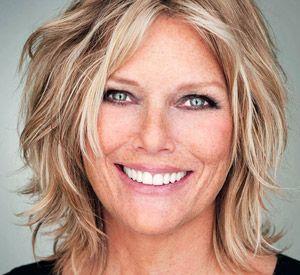 Patti Hansen Hair, blond | Do's | Pinterest