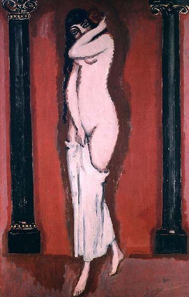 Woman of the Columns, Kees van Dongen