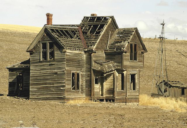Survival Of The Old West House?? by swainboat, via Flickr