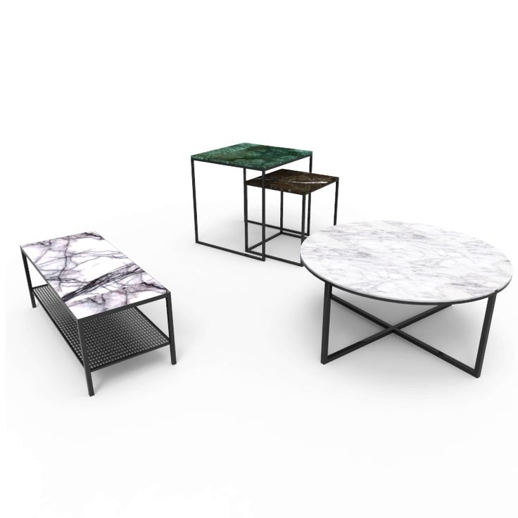 Macain mesas marmol diseno minimalista