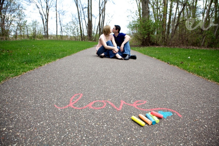 This gives me many ideas for future pics...So much you can do with chalk..