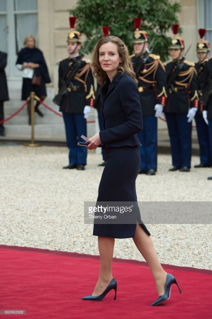 Former Minister Nathalie Kosciusko-Morizet arrives at the Elysee Presidential Palace for the handover ceremony between France's newly-elected President Emmanuel Macron and outgoing President Francois Hollande on May 14, 2017 in Paris, France. Macron was elected President of the French Republic on May 07, 2017 with 66,1 % of the votes cast on May 14, 2017 in Paris, France.