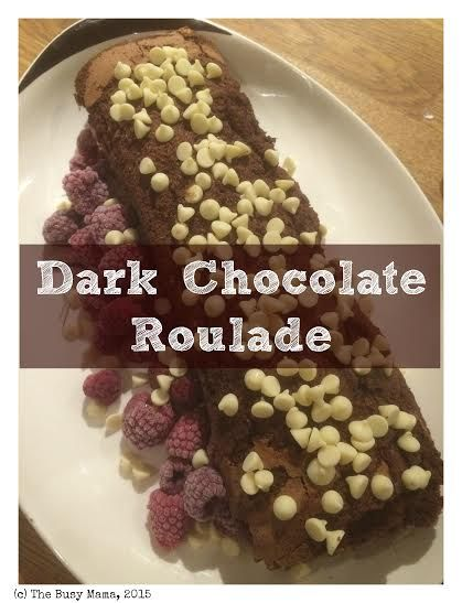 Craft Advent: Day 20: Dark Chocolate Roulade |Where Wishes Come From