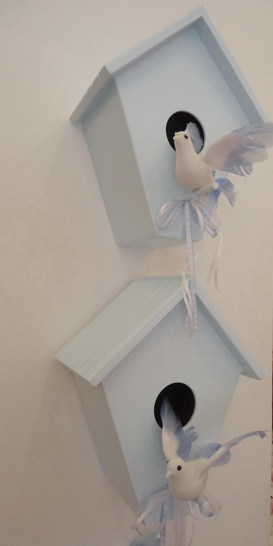 Bebek Odası dekor kuş evleri