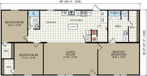 13 best homes in inventory images on pinterest crossword for Wide open floor plans