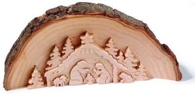 Finkbeiner houten kerststal
