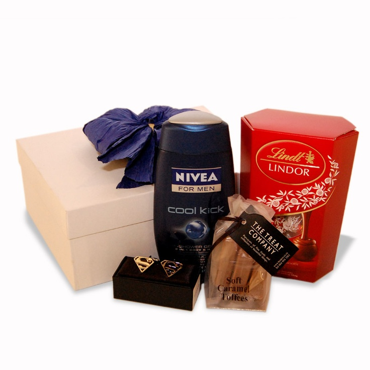 Super Dad Hamper with Nivea and Lindt Goodies