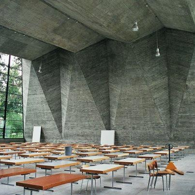 General Trade School Interior Designed By Hermann Baur