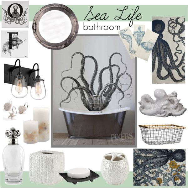 60 best bathroom images on pinterest | octopuses, octopus shower