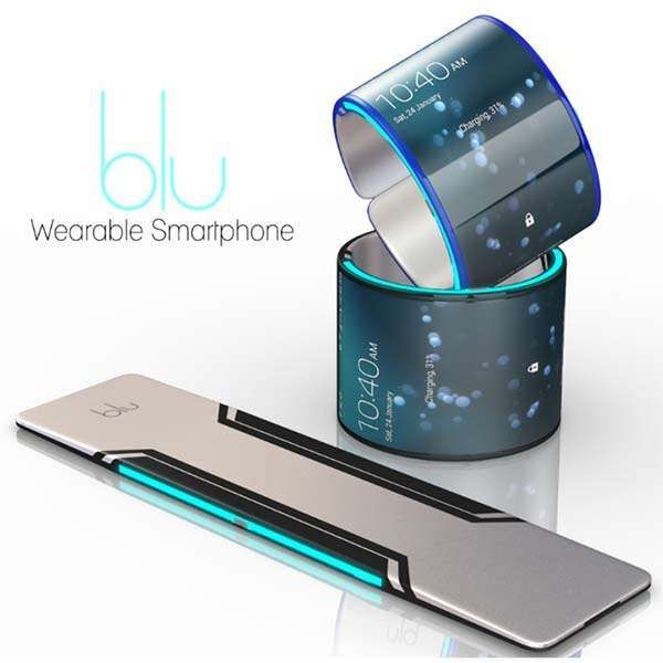 Blu Wearable Smartphone Looks Like a Smart Wristband