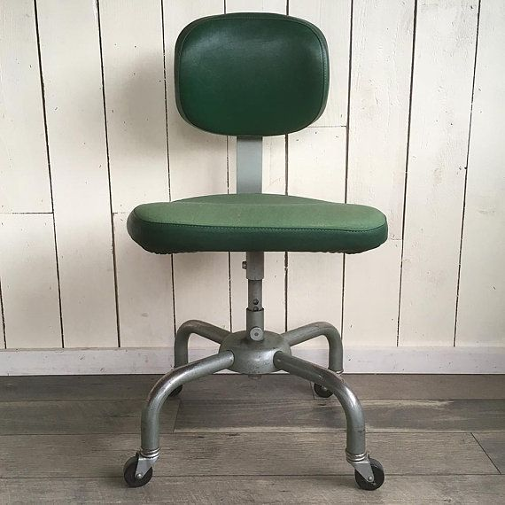Terrific Mid Century All Steel Equipment Inc Office Chair Steno Squirreltailoven Fun Painted Chair Ideas Images Squirreltailovenorg