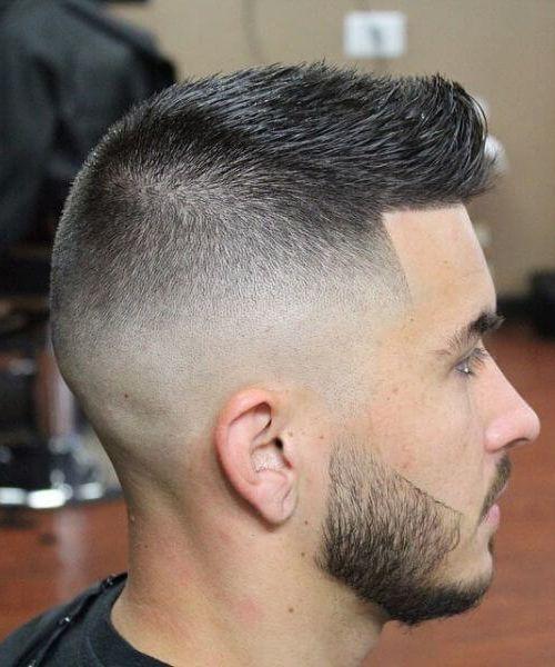 Clean cut buzz hairstyles