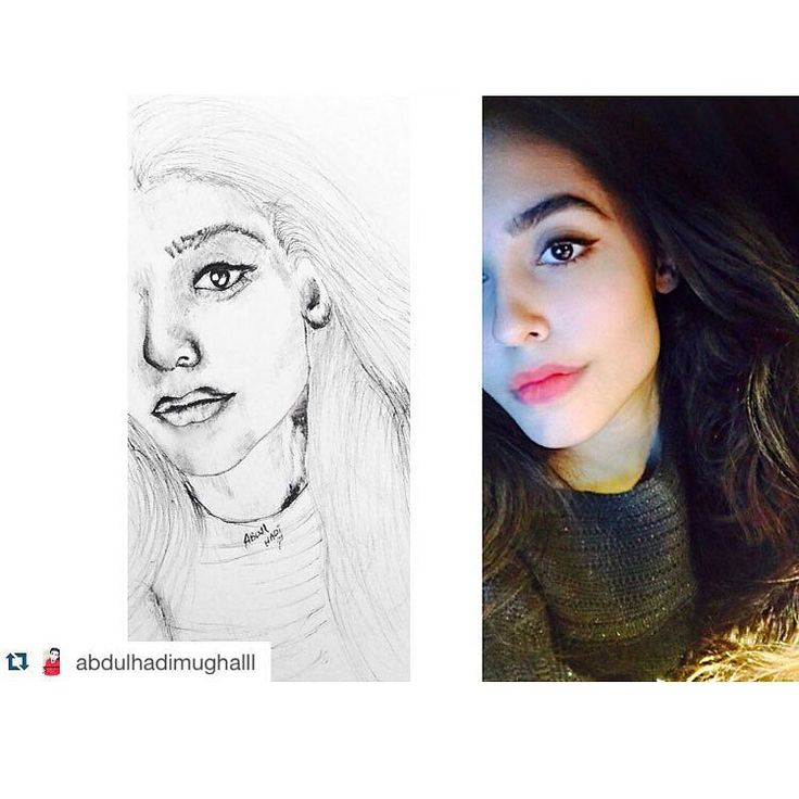 Thank you so much! That's really sweet of you and I truly appreciate your time and effort! I loved it!  good going  #Repost  @abdulhadimughalll with @repostapp.  @ryan.hikmat is the perfect example of an ethnic beauty. She has those perfect face features #Perfectfaces #facialfeatures #sketchaday #atrist #crosshatching #papermate by ryan.hikmat