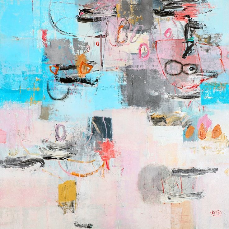 """Abstract I"" by Kitti Narod www.tuskgallery.com.au"