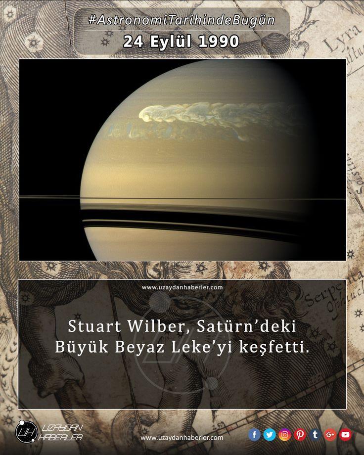 Astronomi Tarihinde Bugün 24 Eylül Detaylar için görsele tıklayınız