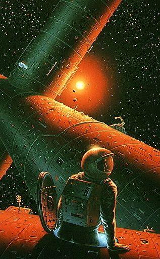 Space Walk · David Hardy