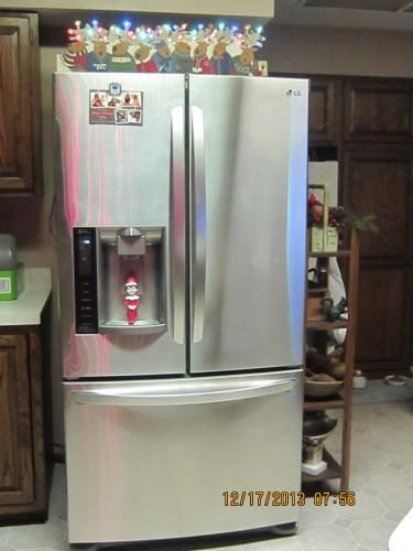 LG Electronics 26.8 cu. ft. French Door Refrigerator in Stainless Steel LFX28968ST at The Home Depot - Mobile
