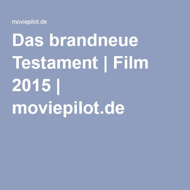 Das brandneue Testament | Film 2015 | moviepilot.de