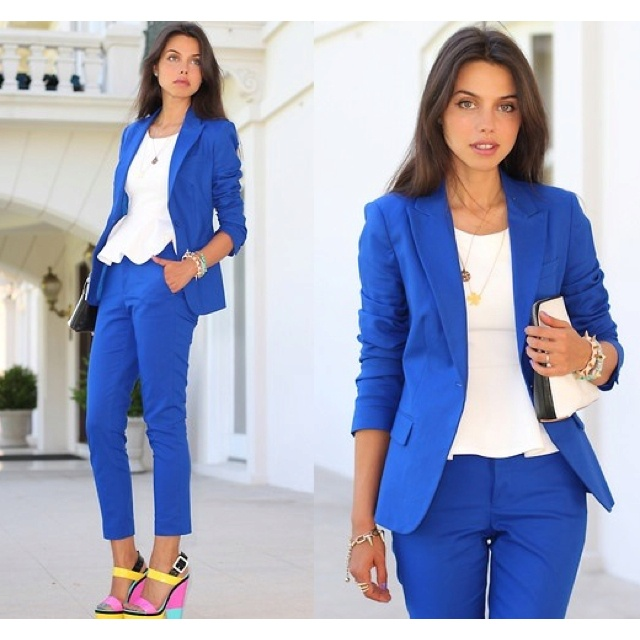 26 best Women suits images on Pinterest | Suits for women, Woman ...