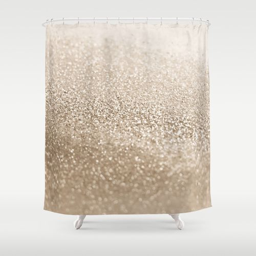 GATSBY PLATINUM Shower Curtain by Monika Strigel | Society  THIS! BUT FOR A REAL CURTAIN