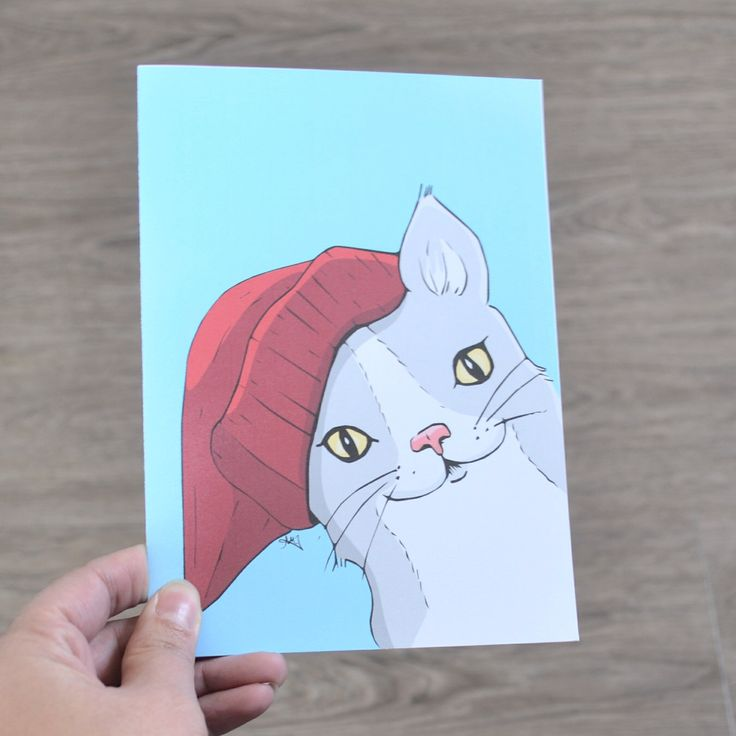 Birthday Card, All occasion illustrated Cheeky Cat card, Great for Birthdays of All ages. First Day of School, and more by AMTaylorArt on Etsy https://www.etsy.com/ca/listing/265515048/birthday-card-all-occasion-illustrated