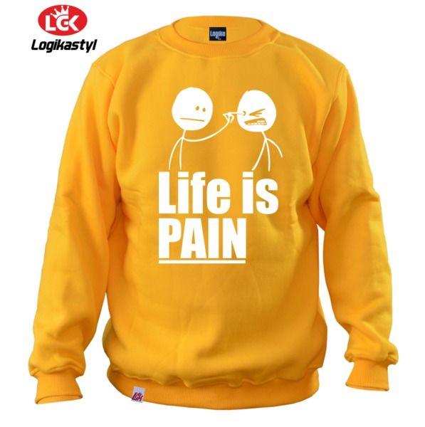 Bluza Live Is Pain w LOGIKA na DaWanda.com