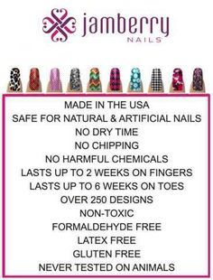 jamberry sheet breakdown - Google Search