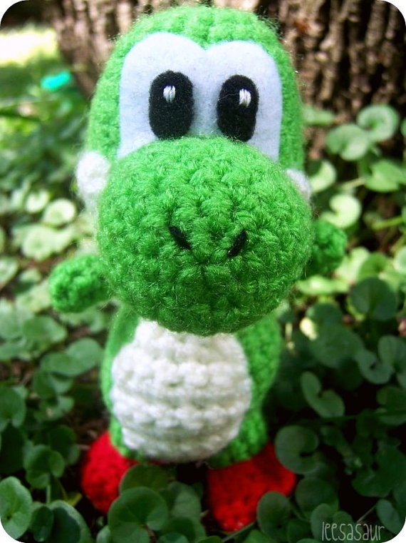 Crochet Patterns Yoshi : Yoshi Amigurumi Crochet Pinterest