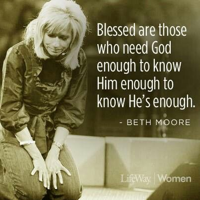 Beth Moore Quote. www.Gods411.org