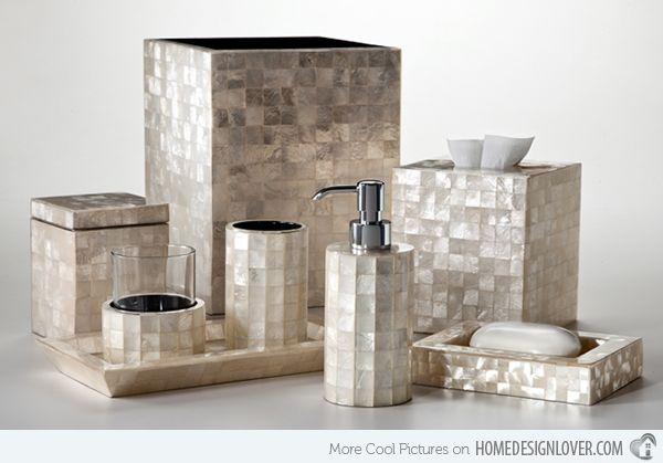 15 Trendy Modern Bathroom Accessories, Contemporary Bathroom Accessories Sets