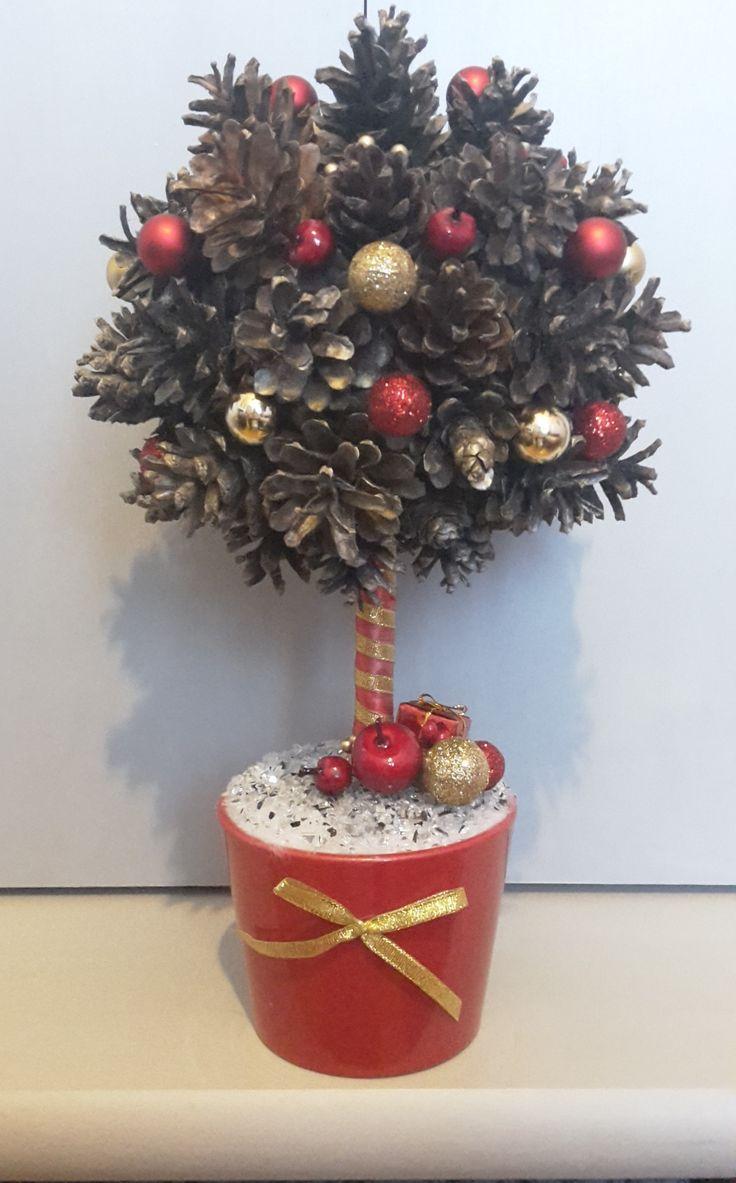 czerwono-złote drzewko nr 2