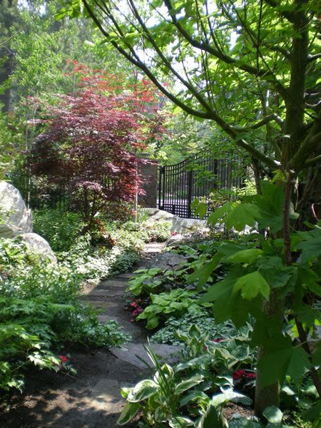 60 Best Images About Shade Gardens On Pinterest | Gravel Path