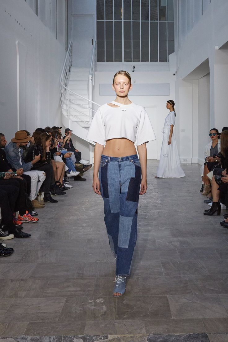 Off-White / Spring 2016 Trends / Blue Jean Babies.