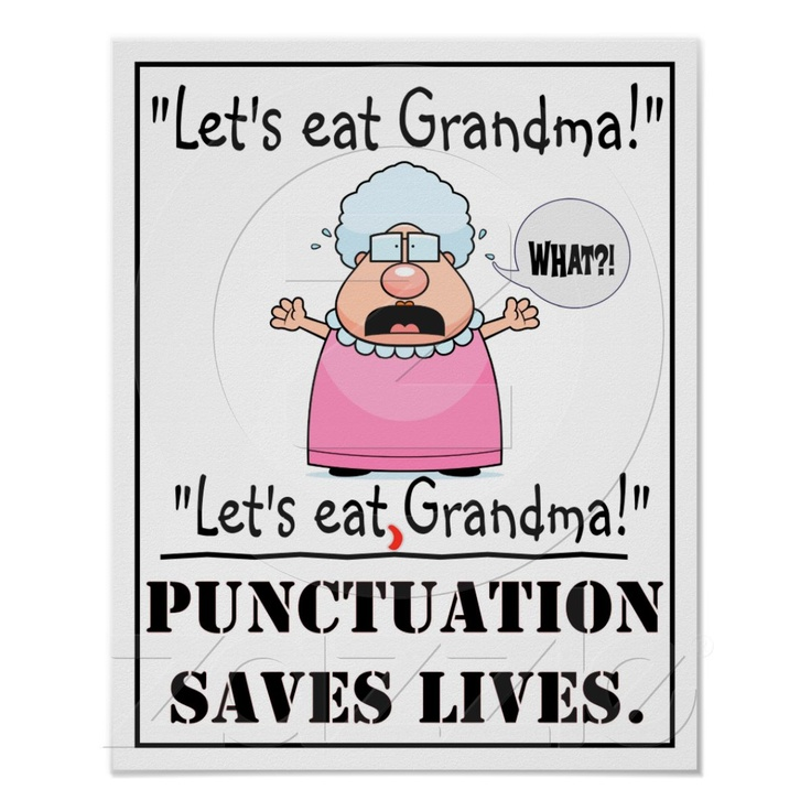 Punctuation saves lives!: Punctuation Saves, Books Jackets,  Dust Jackets, Funny, Saves Lives,  Dust Covers, Posters, Save Living,  Dust Wrappers