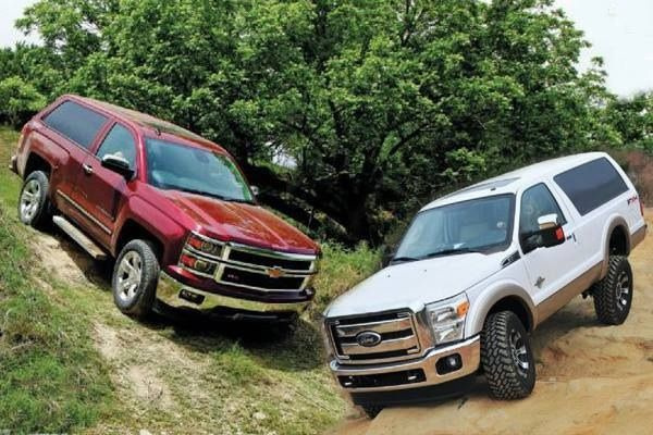 2016 Ford Bronco & Chevy Blazer Prototype | Trucks to love ...