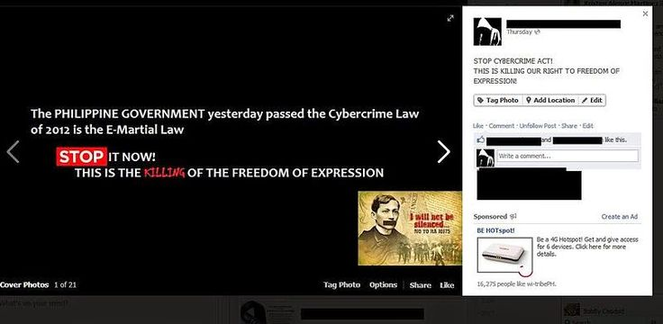 Philippine News: A Shot From The Hip: The Cybercrime Law and its Onerous Provisions on L...