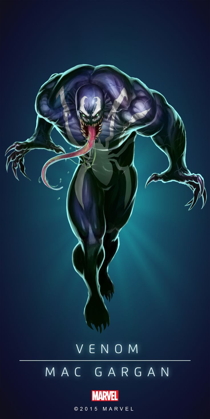 #Venom #Fan #Art. (VENOM - MAC GARGAN IN: MARVEL'S PUZZLE QUEST!) BY: AMADEUS CHO! (THE * 5 * STÅR * ÅWARD * OF: * AW YEAH, IT'S MAJOR ÅWESOMENESS!!!™)[THANK Ü 4 PINNING<·><]<©>ÅÅÅ+(OB4E)(IT'S THE MOST ADDICTING GAME ON THE PLANET, YOU HAVE BEEN WARNED!!!)