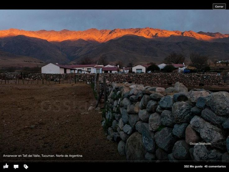 Tafi del Valle, Tucumán, Argentina