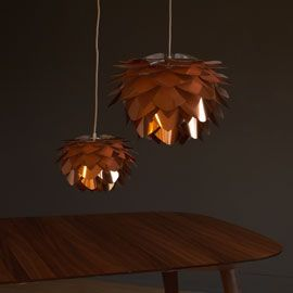 Vita Silvia Copper Pendant Shades
