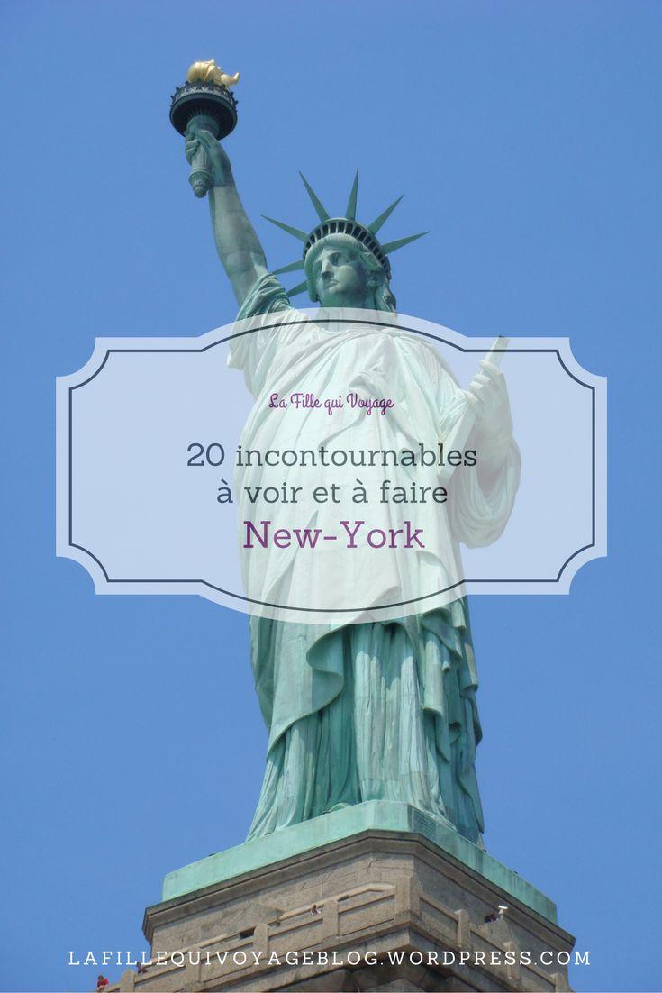 Top 20 des immanquables à New-York