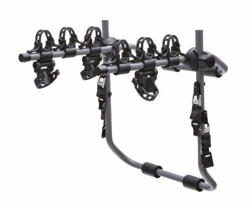 Bike Rack 3 Bicycle Carrier Anti-Sway Car Quick Trunk Mount Hatchback Tires Part