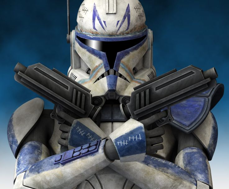 Clone Captain Rex served the Republic during the Clone Wars, often taking orders from Anakin Skywalker and Ahsoka Tano. Description from pinterest.com. I searched for this on bing.com/images