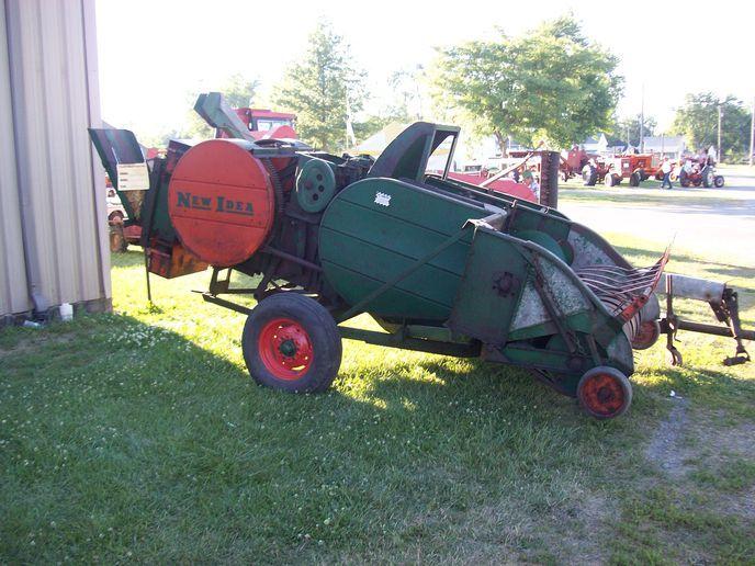 E A D Ed C Db Fabbef Old Farm Equipment Baler
