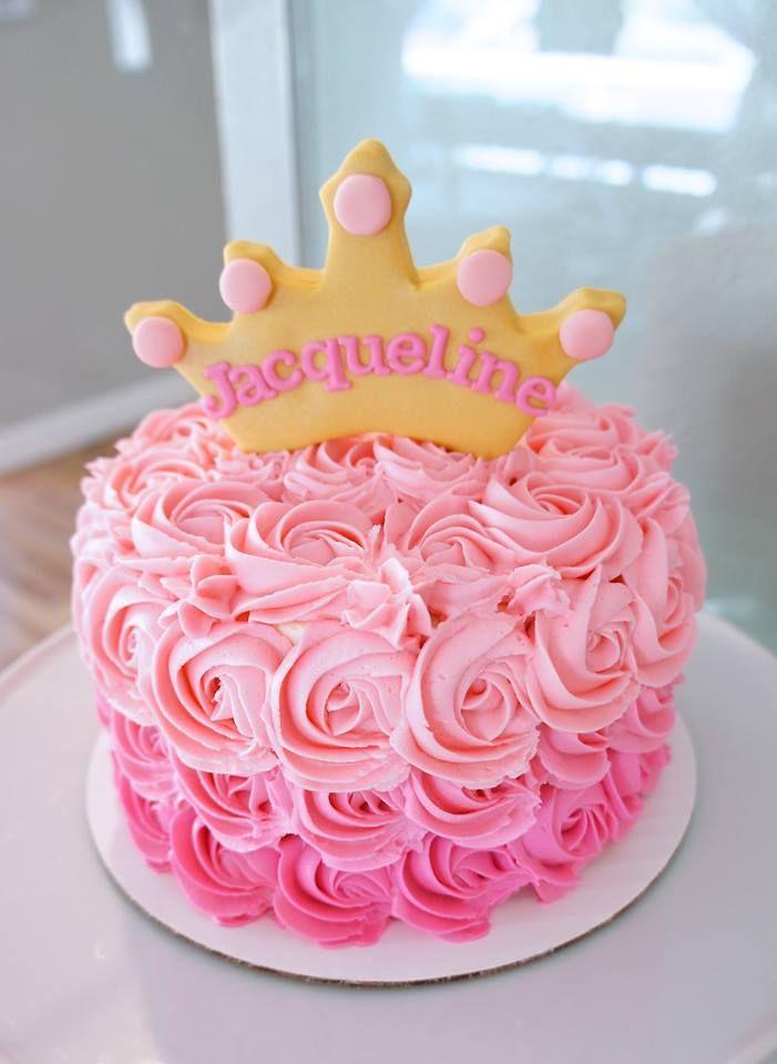 Как украсить торт принцессы