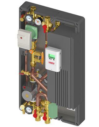 EXOL-AR2 è un modulo premontato di trasferimento del calore solare per il caricamento di accumulatori d'acqua tecnica e accumulatori tampone. SUPERFICE SOLARE MAX. 80 m2 (Collettore piano) 50 m2 (Collettore sotto vuoto)