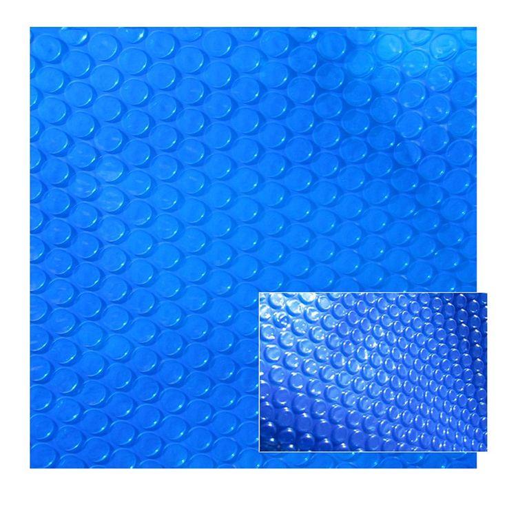 20 ft. x 44 ft. Rectangular 12-mil Solar Blanket for In-Ground Pools in Blue