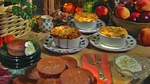 Baking with Julia - Johnnycake Cobblers with Johanne Killeen | WGBY