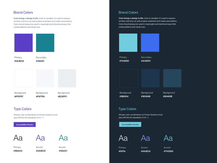 Design Guidelines by Kylee Barnard