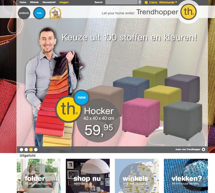 De trendhopper is een concurrent van de Ikea omdat ze de zelfde soort artikelen verkopen en alle mensen halen er wel eens spullen voor de inrichting