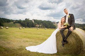 Hochzeitsfotos in Dresden, Goetheallee und am Elbufer